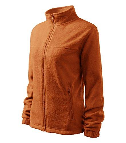 Giacca in pile di alta qualità/giacca di aquila - formato e colore a scelta- arancione Small