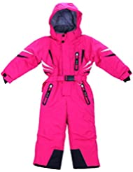 Ydi Combinaison de ski pour garçon et fille Doublure chaude Taille 98 - 128 cm