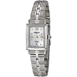 Raymond Weil Ladies Watch 9741-ST-00995 with White Dial