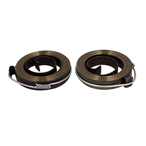 sourcingmap® 2 Stück 5,4cm Durchmesser Metall Bohrmaschine Feder Rückstellspiral Federpaket