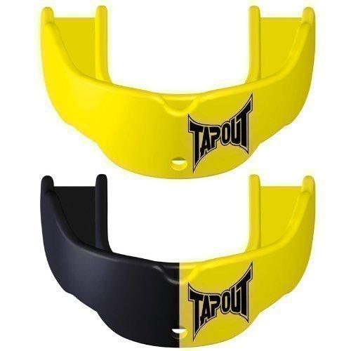 Tapout - Protecciones bucales de boxeo y hockey (2 unidades) amarillo Talla:adulto