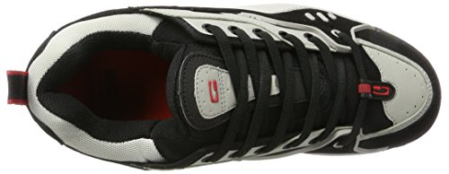 Globe CT-IV Classic, Chaussures de Skateboard Homme, Noir Grau (Silver/Grey/Black)
