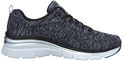 Skechers (SKEES) Fashion Fit- Style Chic, Scarpa Tecnica Donna Nero (BKW)