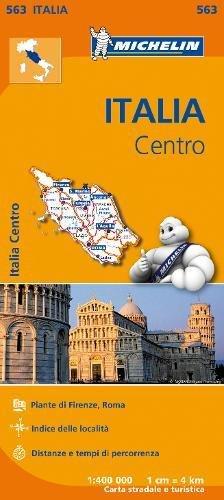 Mapa Regional Italia Centro (Carte regionali) por MICHELIN