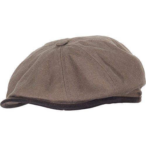 stetson-canvas-hatteras-seward-cap-xl-olive