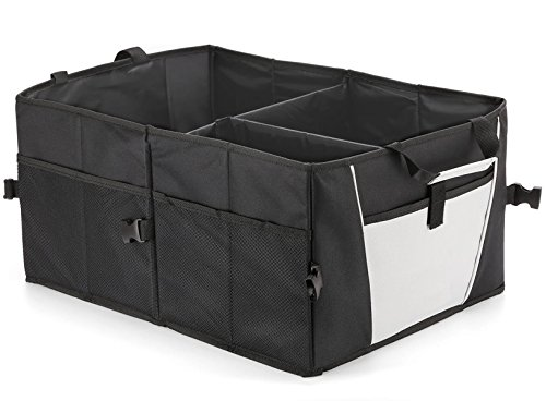 Auto Kofferraumtasche | Kofferraum Organizer | Faltbar & Stabil | Mehrere Fächer