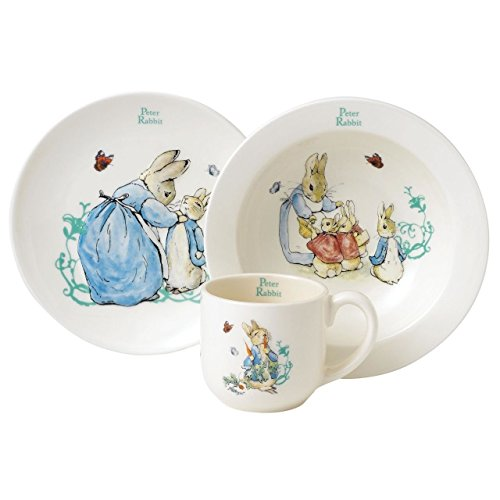 Beatrix Potter Set vaisselle bébé 3 pièces Pierre Lapin