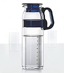 Borosil Marina Jug with Plastic Handle, 1.3 Litres, Transparent