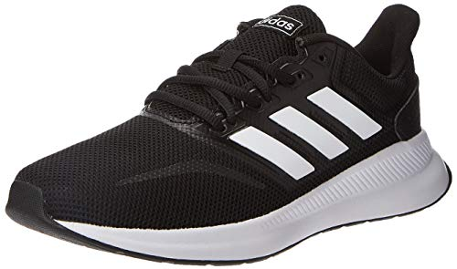 Adidas Falcon, Zapatillas de Trail Running para Hombre, Negro/Blanco (Core Black/Cloud White F36199), 44 2/3 EU