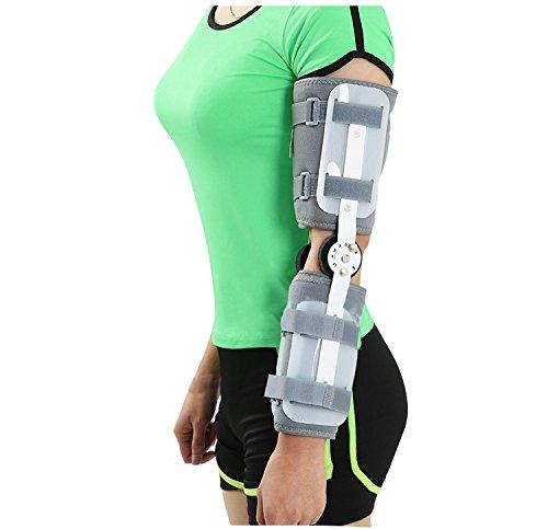 verstellbar Ellenbogen-Gelenk-Feste brace-funwill korrigierenden-Orthese Aktivität Begrenzung Arm Fraktur Displayschutzfolie
