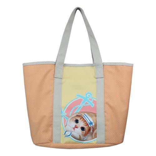 Casual/Everyday Tote Bag-Henry Katzen & Friends-Henna (Katze) -