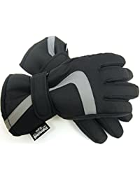 Childrens Padded Thermal Winter Gloves - Kids Skiing Thinsulate