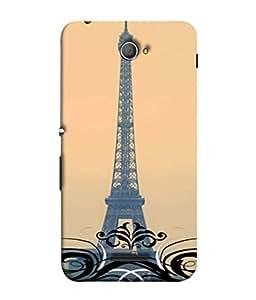 Fuson Designer Back Case Cover for Sony Xperia E4 :: Sony Xperia E4 Dual (Eiffel Tower Europe Seven Wonders 7 wonder Love )