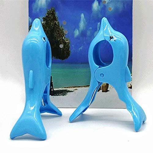 Dolphin Handtuch Clips Große Neuheit Solarium Beach Knöpfen schwere Wäsche Sun Bett Liege für Urlaub Stuhl, Pool