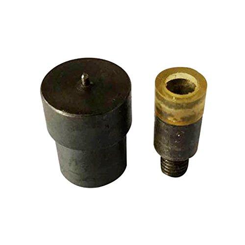 Gazechimp Druckknopf Einstellwerkzeug Locheisensatz Für 8mm Große Lochperlen Perlen