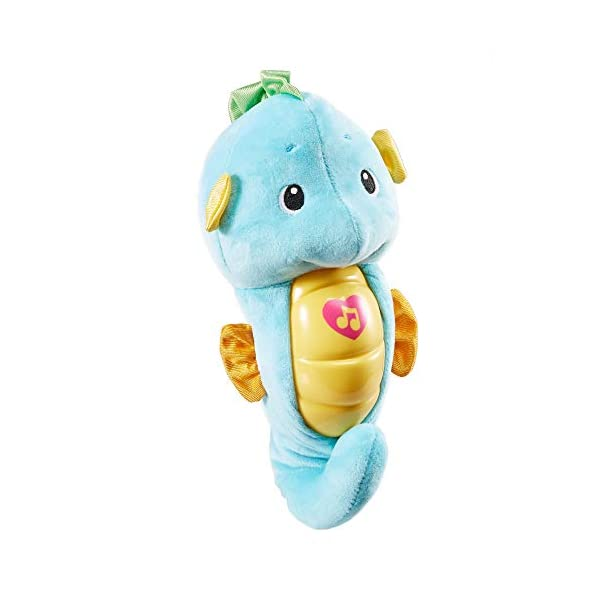 Fisher Price - Soothe N Glow - Seahorse, Blue 1