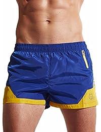 ZARLLE BañAdores De NatacióN Transpirable Pantalones Cortos Hombre, Pantalones Corto De Costura Color Cortocircuitos De