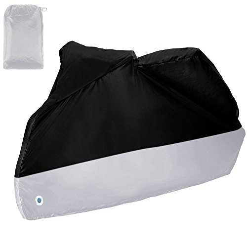 Zacro Cubierta de Motos Funda de Moto 190T Impermeable Protección UV Cubierta...