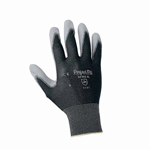 Honeywell 2400251-08/SP PSS Gants de Manutention Générale Perfect Poly Black, Manipulation Fine en Milieu Sec, EN 388 4121 - Taille 8 (1 paire sur cartonnette)