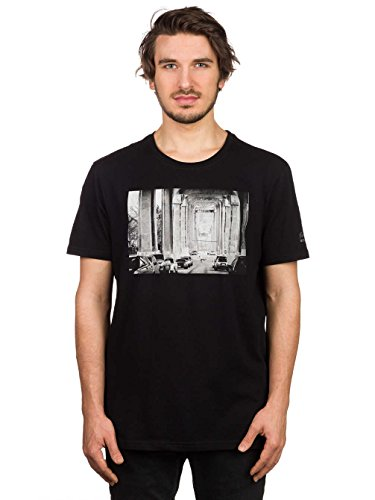 Element T-shirts - Element Ep Brian Gaberman Ss T-shirt - Off White flint black a