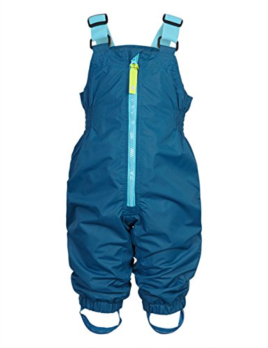 Racoon Baby - Jungen Regenhose CHARLEY SOLID Wassersäule 3000, Einfarbig, Gr. 80, Blau (Ink blue INK)