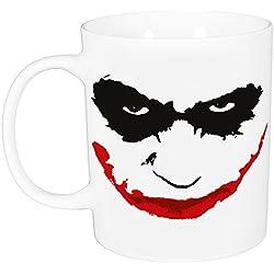 "'Batman 0122162Taza ""Joker, porcelana, blanco, aprox. 320ml, 12x 7,5x 9,30cm"