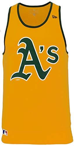 New Era Team Apparel T-Shirt Logo Tank oakath Linie Oakland Athletics, Unisex Erwachsene, mehrfarbig (AGD) Oakland Athletics Design