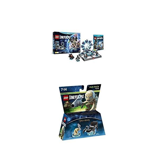 LEGO - Starter Pack Dimensions (Wii U) + LEGO Dimensions - Figura El Señor De Los Anillos, Gollum 1