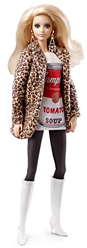 Barbie Mattel DKN04 Andy Warhol Cambell´s Soup, Puppen