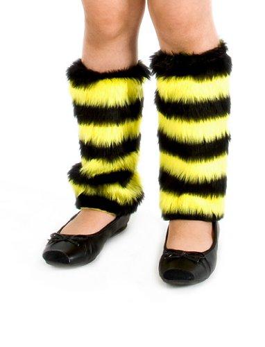 (Beinstulpen Biene Plüsch Kinder keine Größe)