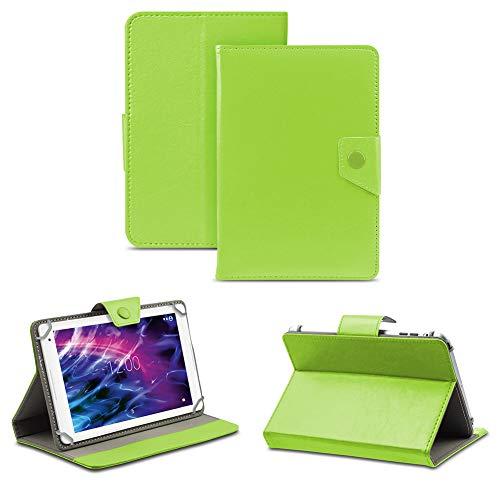 NAUC Tablet Hülle für Medion Lifetab P8514 P8314 P8312 P8311 Tasche Schutzhülle Case Cover, Farben:Grün