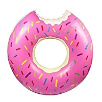 Donut Pool Gigantic Inflatable Float Swimming Jumbo Ring Summer Tube Water Toys