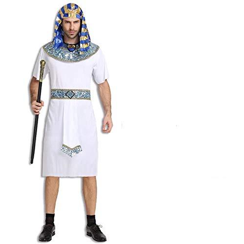 thematys Pharao Ägypten Kostüm-Set für Herren - perfekt für Fasching, Karneval & Cosplay - Einheitsgröße (Ägypten Pharaonen Kostüm)