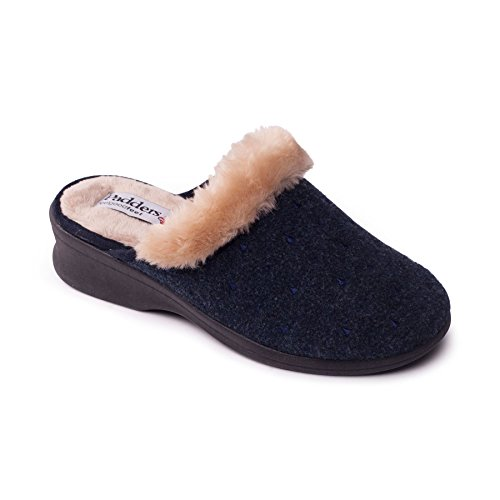 Padders scarpe 'Scarlet' sentiva le donne | Extra grande larghezza di EE | calzascarpe libero Marina Militare
