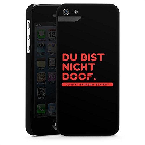 Apple iPhone X Silikon Hülle Case Schutzhülle Doof Sprüche Lustig Premium Case StandUp