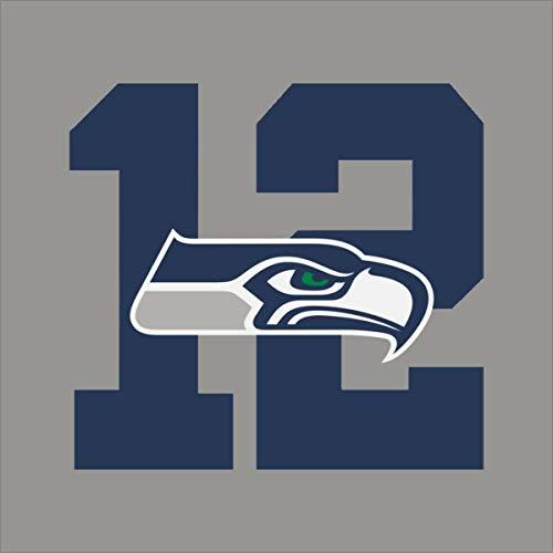 wandaufkleber 3d Wandtattoo Seattle Seahawks # 9 Team Logo Vinyl Aufkleber Aufkleber Autofenster Wand