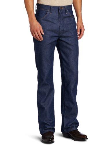 Wrangler Herren Western-Jeans, Bootcut - Blau - 32W / 32L Bootcut-jean Bottoms Jeans