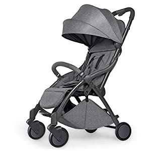 Pushchair 2 In 1 Baby Stroller Travel System,Baby Trolley Newborn Baby Carriage Foldable Can Sit And Lie Down Damping Baby Cart For 1 Month -5 Years Old   1