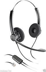 Plantronics Practica SP12 RJ 9 Binaural Noise-Canceling Headset for CISCO 7960