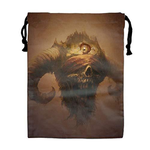 Horned Scream Bag Women Fashion Rucksack ()