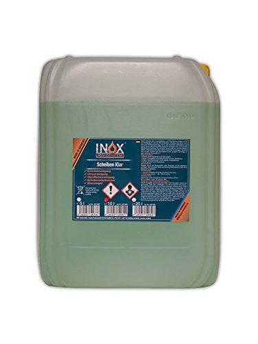 INOX Scheiben Klar effektives Scheibenreiniger Konzentrat 10 Liter