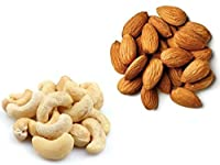 Spicy Carte Dry Fruits Combo Pack - Cashew Nut & Almond, 500g