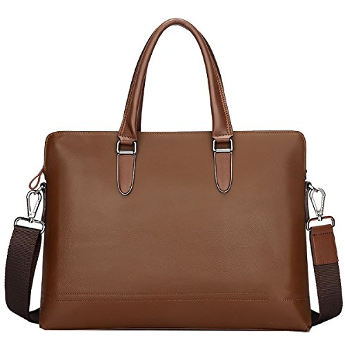 Yy.f New Leather Borsetta Da Uomo Business Casual Primo Strato In Pelle Tracolla Diagonale Porta Computer Borsa A 3 Colori Solido Sacchetto Blu