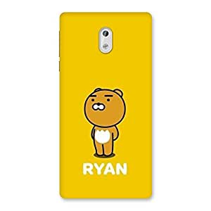 Premium HD Quality Yellow Teddy Back Case Cover for Nokia 3