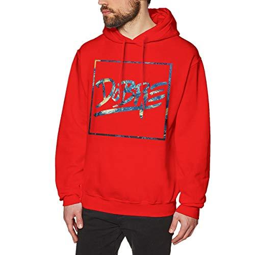 James Home Herren Dobre Brothers Logo Pullover Hoodie Langarm Sweatshirt Hoodies für Herren Jungen Kleidung Outdoor Mantel Tops Rot L Oval Logo Sweatshirt
