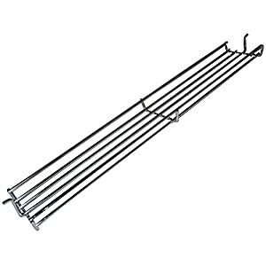 Music City Metals 02346 Chrome Steel Wire Warming Rack for Weber Brand Gas Grills - Silver