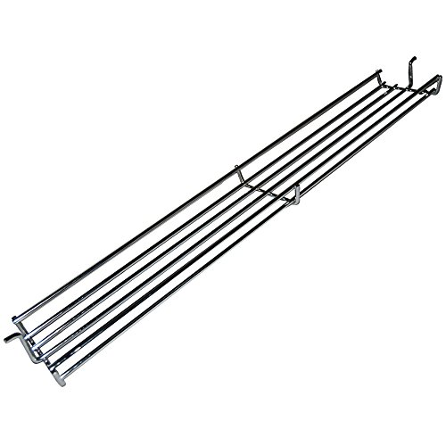 Music City Metals 02346 Chrome Steel Wire Warming Rack for Weber Brand Gas Grills – Silver