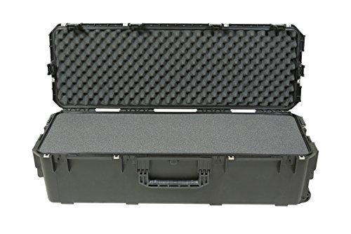 SKB wasserdichter Transportkoffer 3i Series mit geschichteter Schaumstoff Schwarz, 108 x 33 x 30.5 cm