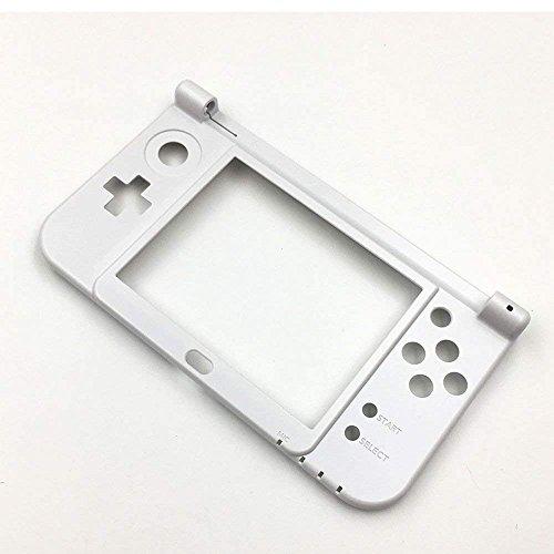 New Ersatz Gehäuse Scharnier unten mittig Rahmen Cover Shell Case für Nintendo 3DS XL LL 2015, Dieser ist-Weiß (Xl 3ds Cover)