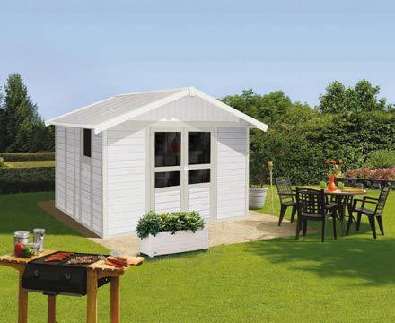 Gartenhaus Basic Home - 9